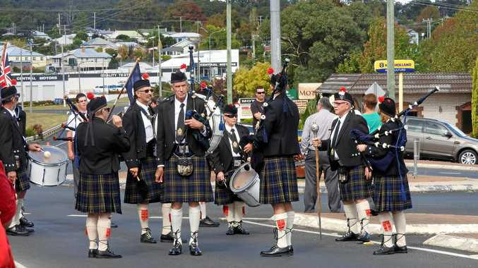 PIPE UP: Stanthorpe Pipe Band will entertain at Broadwater CWA Hall on Saturday.