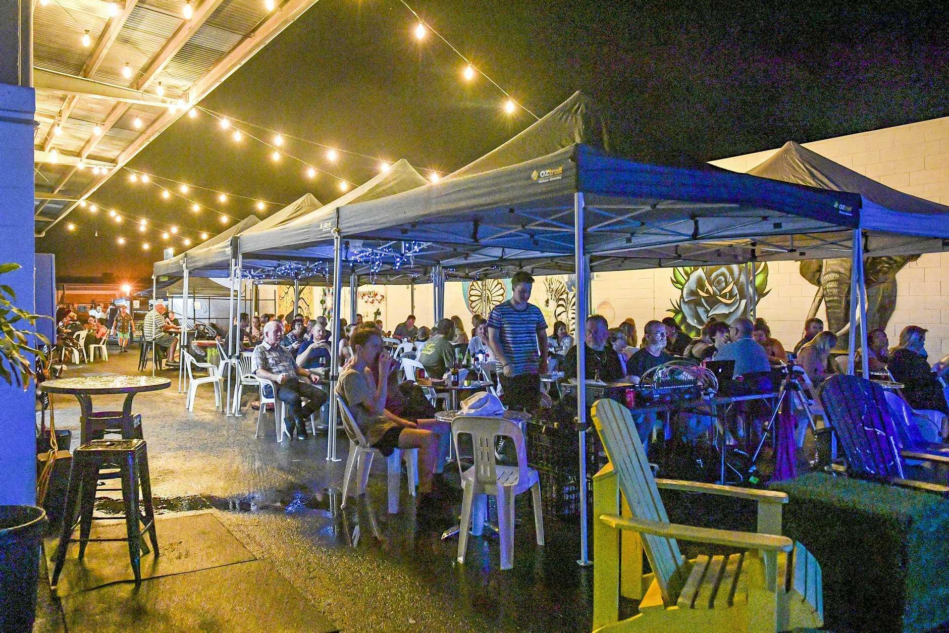 FUN NIGHT: Crow Street Creative's food and music returns tonight.