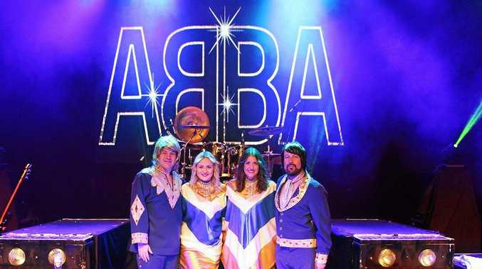 WORLD-CLASS MUSIC: Zach Coombs as Bjorn, Hannah Pocock as Agnetha, Jenna Ball as Frida and Andre Behnke as Benny in The ABBA Show.