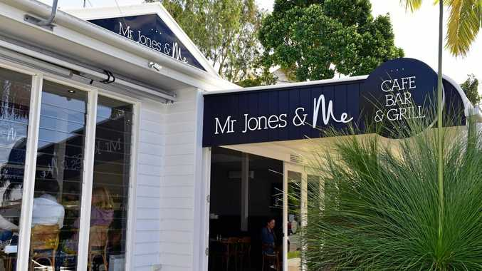 BUSINESS AS USUAL: Mr Jones and Me at Noosaville is open.