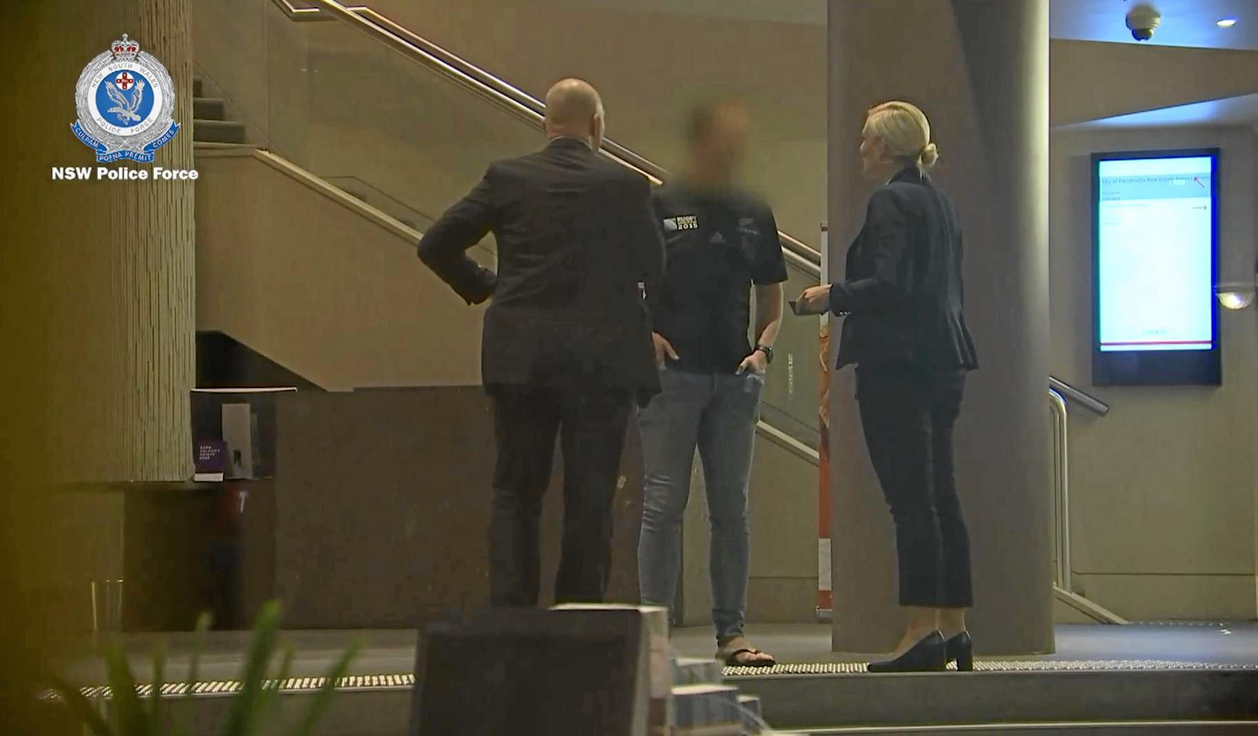 Strike force detectives arrested a 49-year-old Coffs Harbour man outside a hotel at Parramatta on Wednesday about 7.30pm.