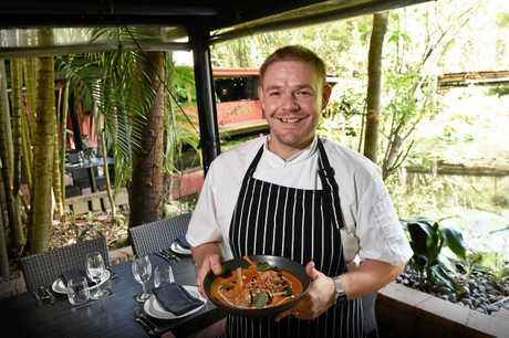 Restaurant of the Year Awards review Spirit House, Yandina. Head chef Aaron Tucker.