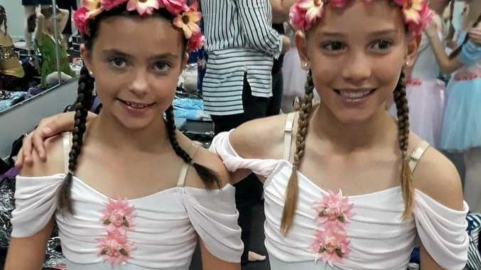 GRACEFUL GIRLS: Stanthorpe dancers Jaimee Costanzo and Natalie Gasparin will perform in Rapunzel at Empire Theatre, Toowoomba this weekend.