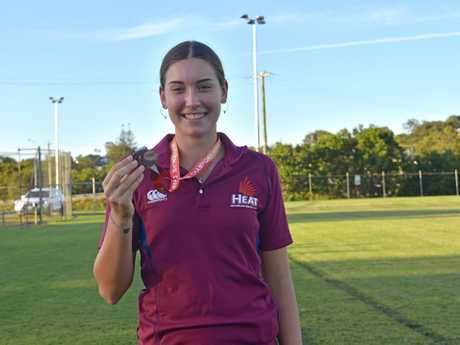 Australian Championships - Chantelle Chippindall received bronze in the heptathlon and a PB.
