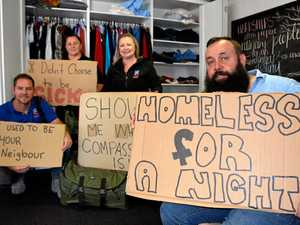 Toowoomba residents encouraged to sleep rough for charity