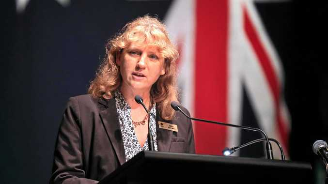 ROLE MODEL: Tweed Council Mayor Katie Milne has called on political leaders in the region to rise up against bullying.