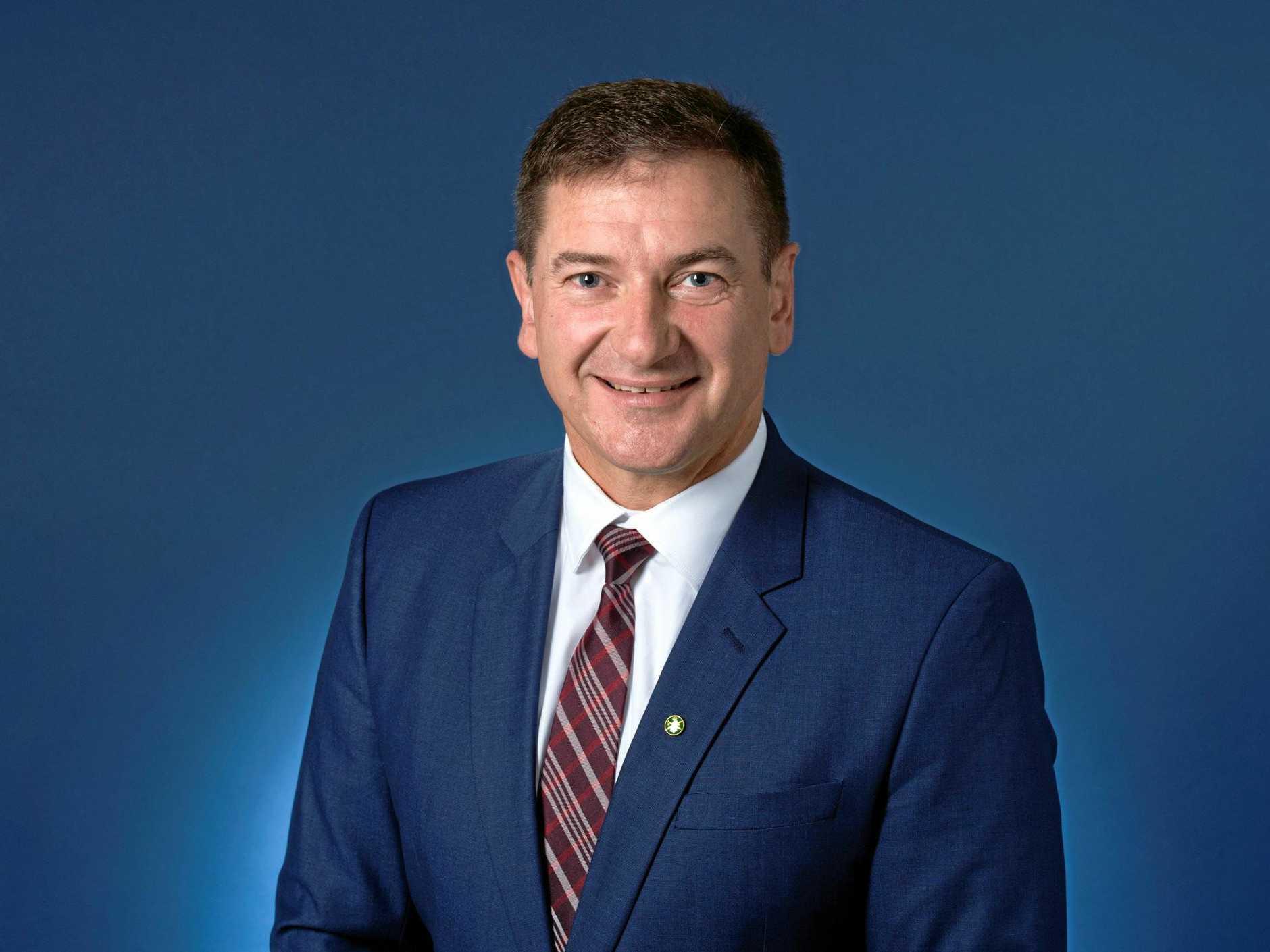 Wide Bay MP Llew O'Brien.