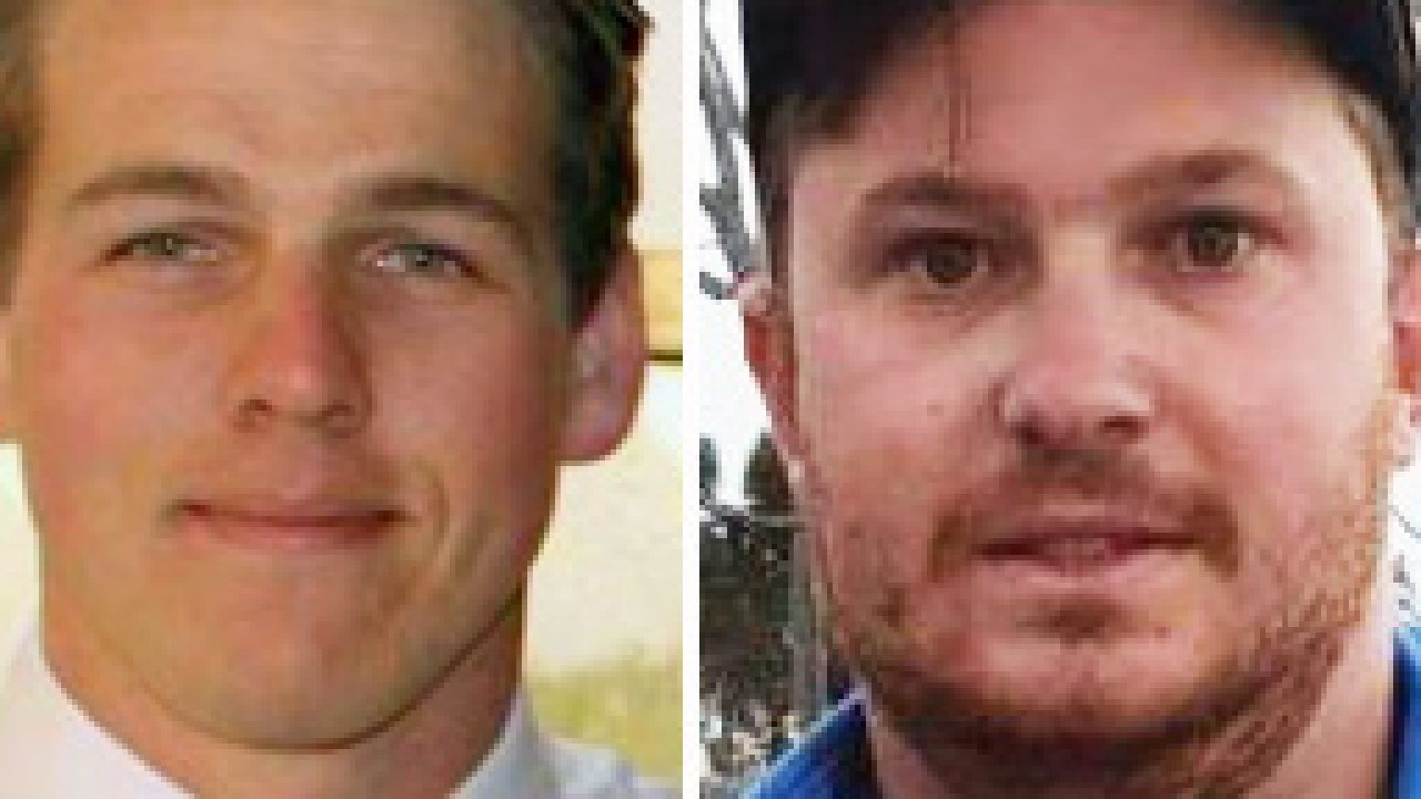 Luke Merryfull, left, and Shaun Bloomfield, right, raped a woman in a caravan after she rejected their offer for a threesome.