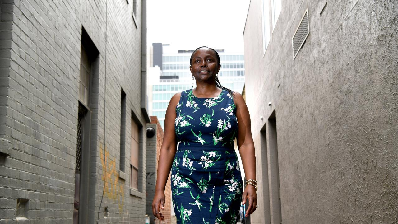 Lucy Gichuhi left Family First to team up with the Liberals. Picture: Tricia Watkinson