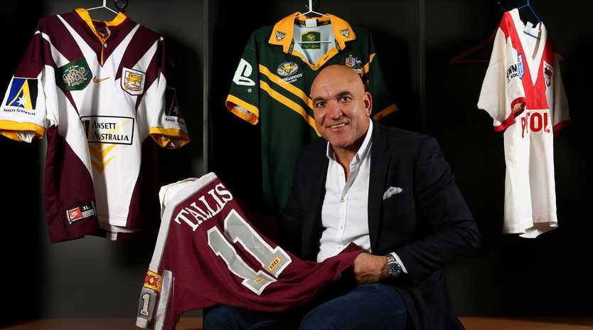 Rugby league legend Gorden Tallis wants the Broncos to be better.