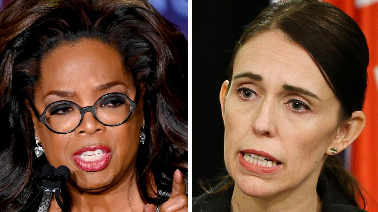 Oprah Winfrey has expressed her admiration for Jacinda Ardern and her leadership. Picture: Mike Coppola/Getty Images.