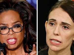 Oprah's stunning Jacinda Ardern speech