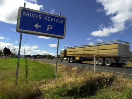 Very few drivers take a break every two hours when driving. Picture: David Martinelli