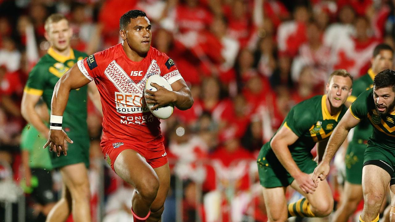 Tevita Pangai Jr will have to choose between Origin and Tonga. Picture: Anthony Au-Yeung