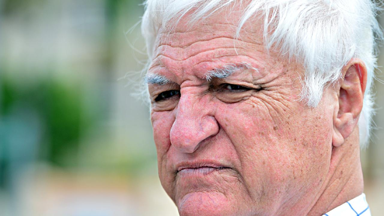 Bob Katter's comments saying the north Queensland crocodile problem was more important than same-sex marriage immediately went viral. Picture: Zak Simmonds