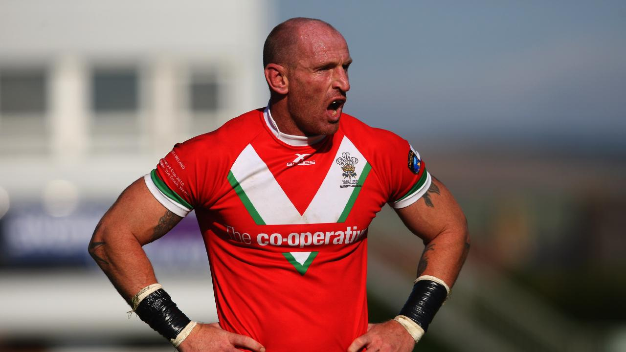 Openly gay former Wales star Gareth Thomas has spoken out against Folau's comments. picture: Getty
