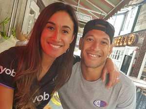 Israel Folau's rant won't hurt wife Maria