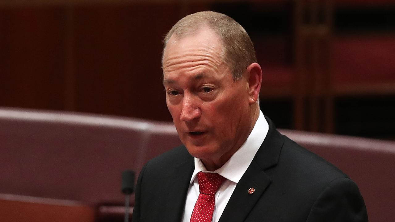 Fraser Anning's maiden speech sparked nationwide outrage. Picture: Kym Smith
