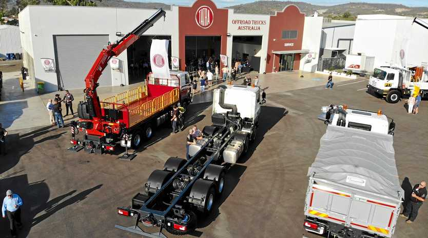 PLACE TO CALL HOME: New premises for Offroad Trucks.