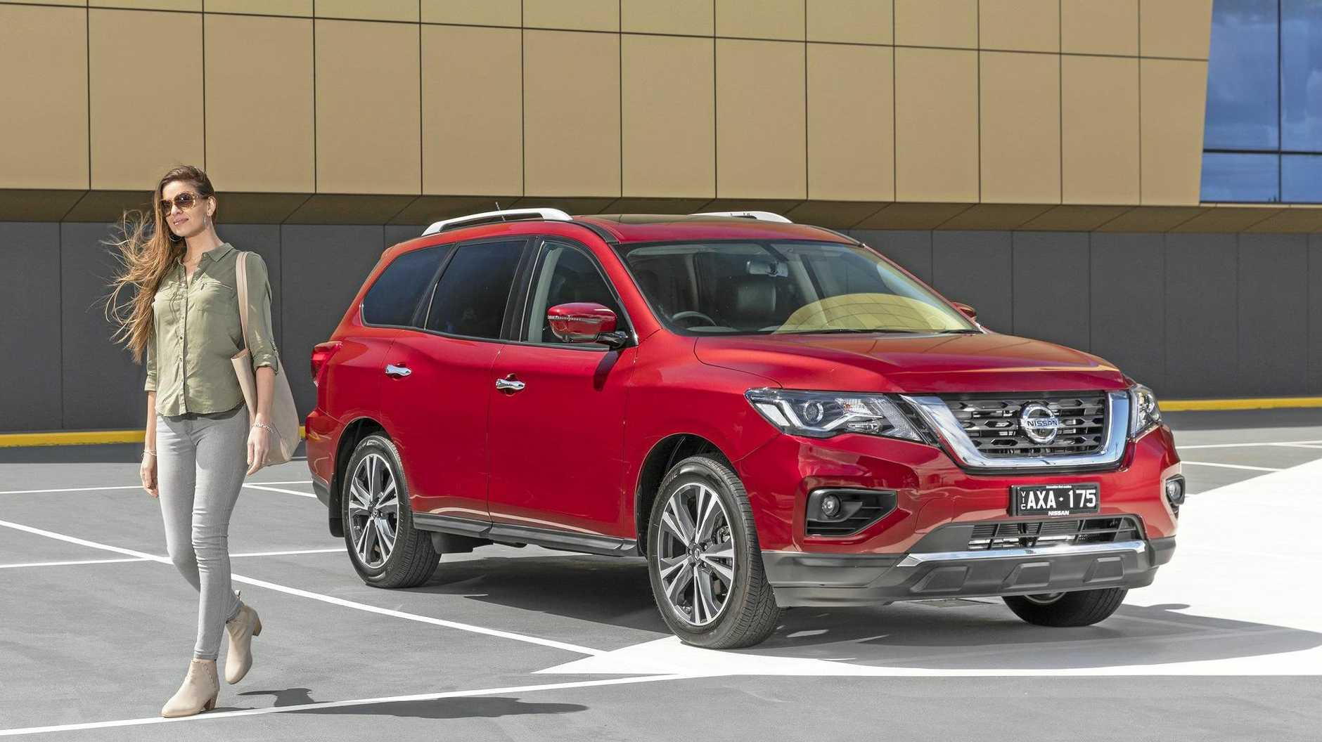 The 2019 model Nissan Pathfinder Ti.