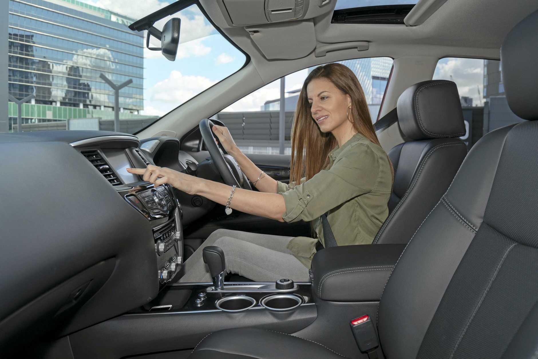 The 2019 model Nissan Pathfinder Ti.