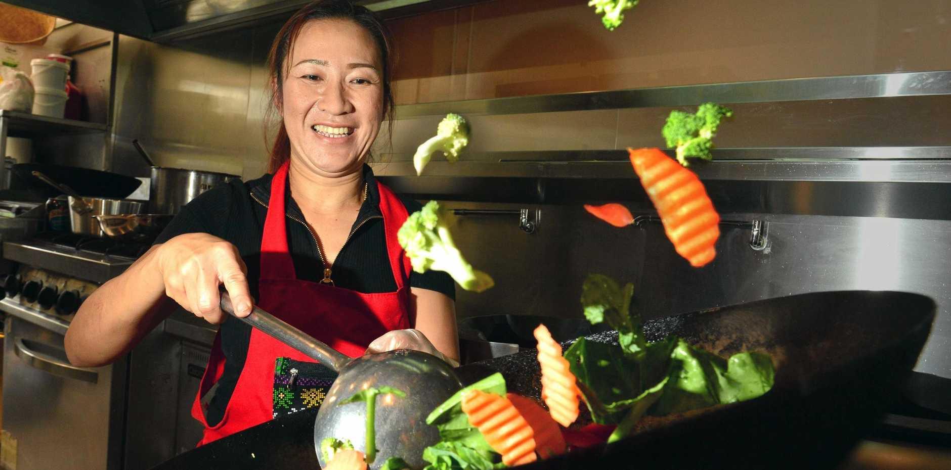 Rinda Tibkaeo of Muang Thai is back serving great family diishes in Mooloolah Valley.