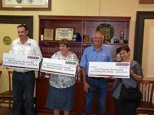 Bull semen auction profits go to three relief charities