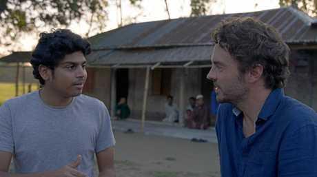 A still from the film 2040 featuring Bangladeshi energy access facilitator Neel Tamhane and Byron Shire filmmaker Damon Gameau.