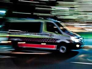 One injured in single-vehicle crash