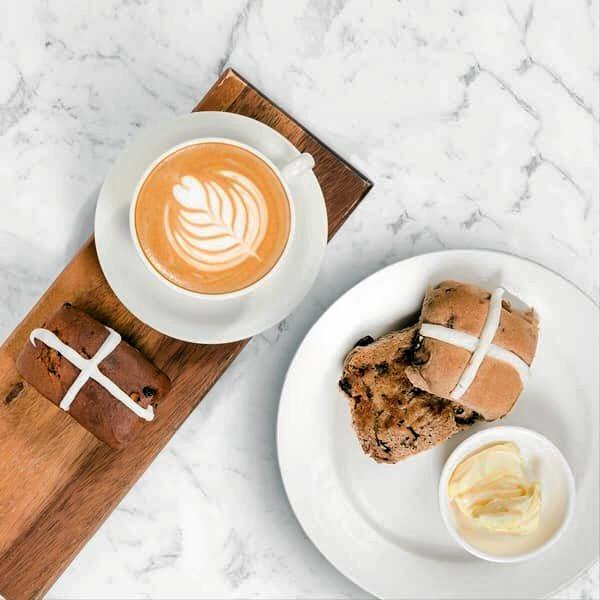 Easter treats around Toowoomba: Hot cross buns and bars from The Shingle Inn.