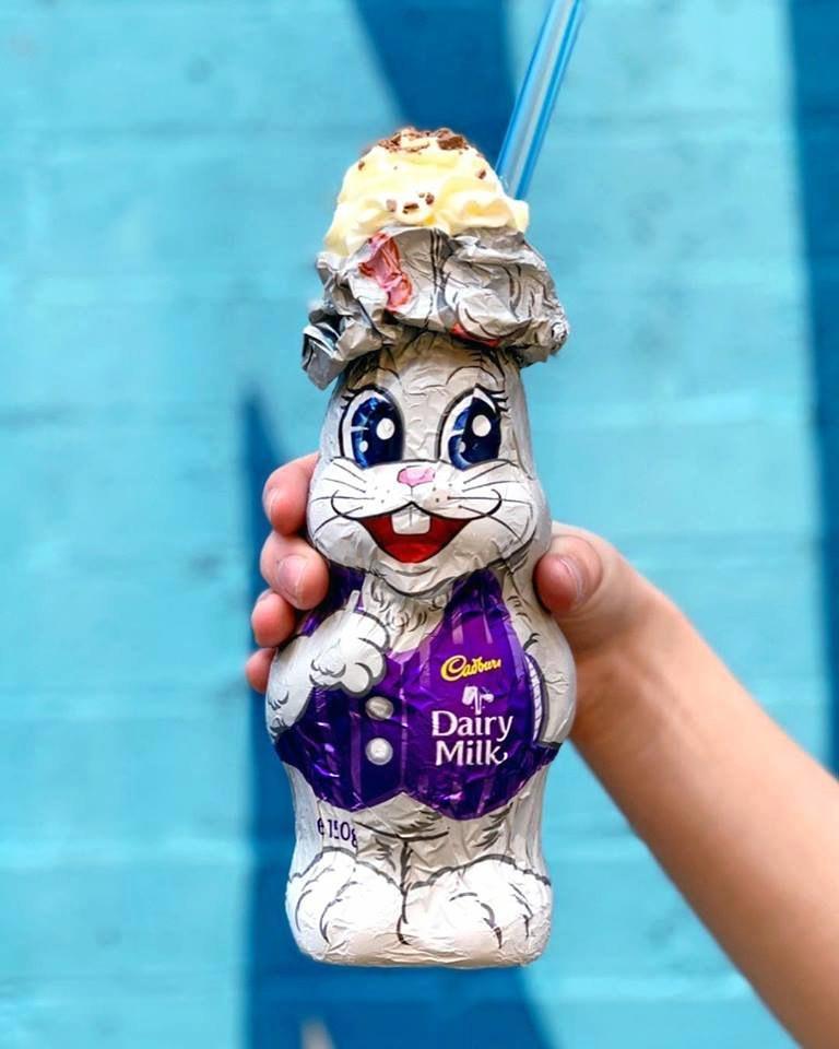 Easter treats around Toowoomba: Milkshake bunny from The Moose.