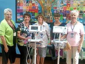 Hospital Auxiliary donates vital equipment