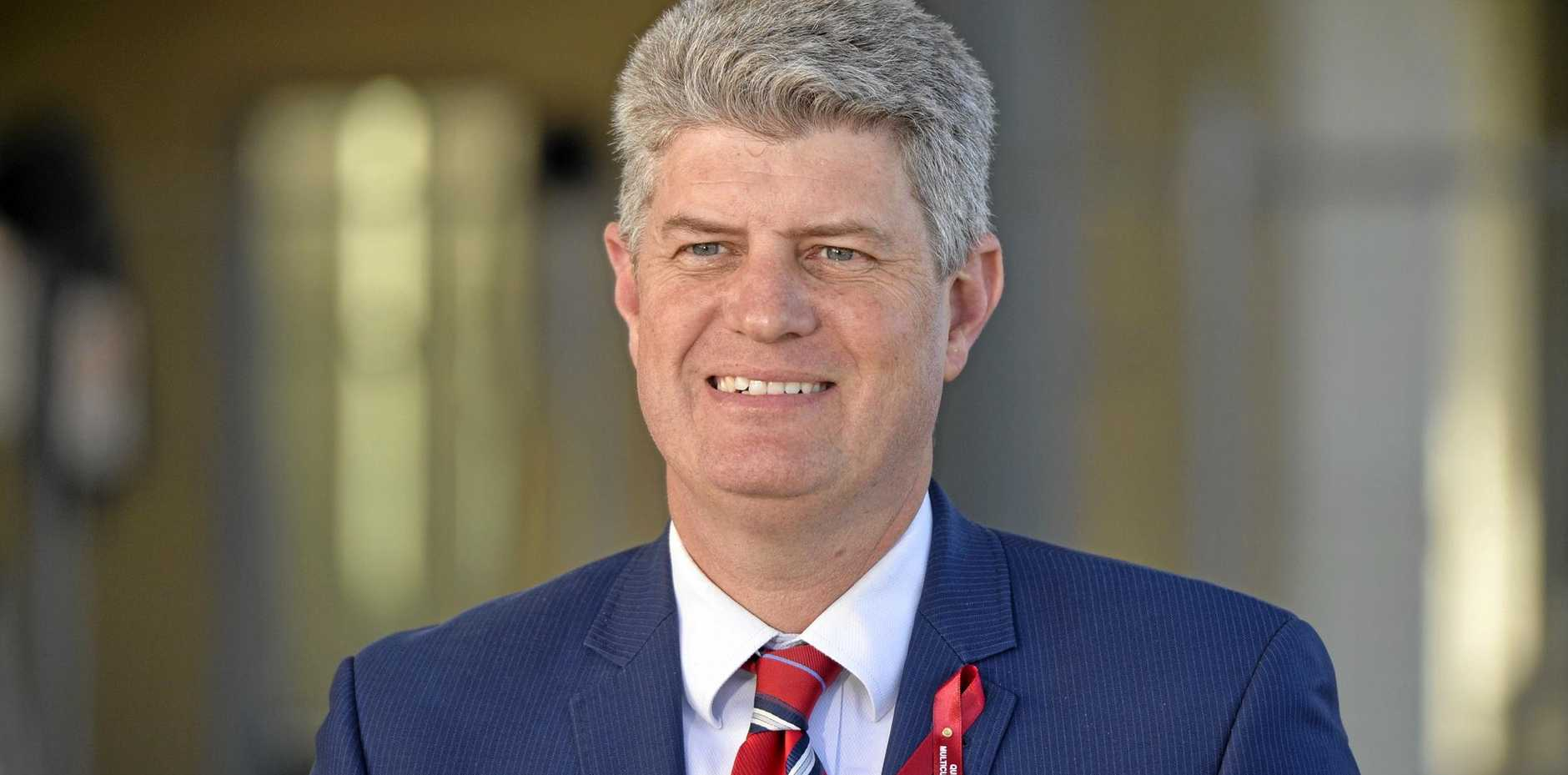 Queensland Minister for Multicultural Affairs Stirling Hinchliffe.