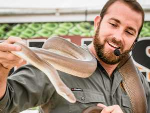 Myths about snakes to be busted at Nanango Show