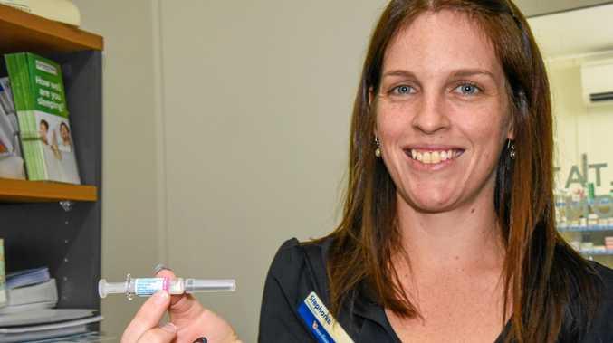 Guardian Pharmacy Gayndah's pharmacist Stephanie Tucker.