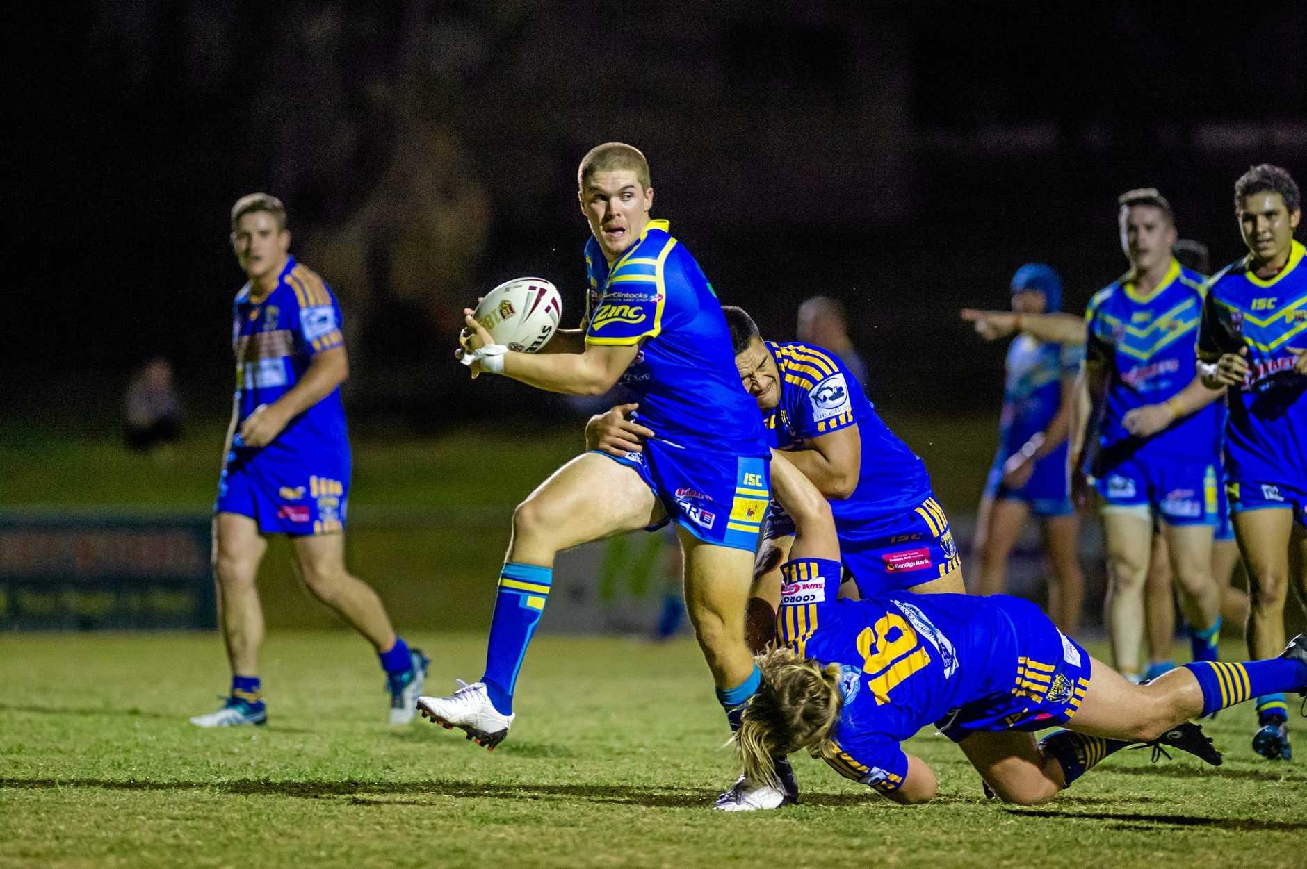 Rugby League - Gympie Devils vs Noosa Pirates - Matt Moessinger Gympie Devils