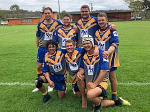SUPER SEVEN: Tradies giving it their all for the Mustangs