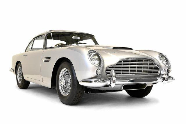 The Aston topped the bidding at the Gosford auction.