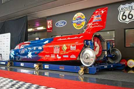 The Aussie Invader III jet car sold for a record sum.