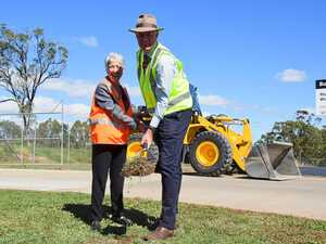 First sod turned on $5M water pipeline project in Warwick