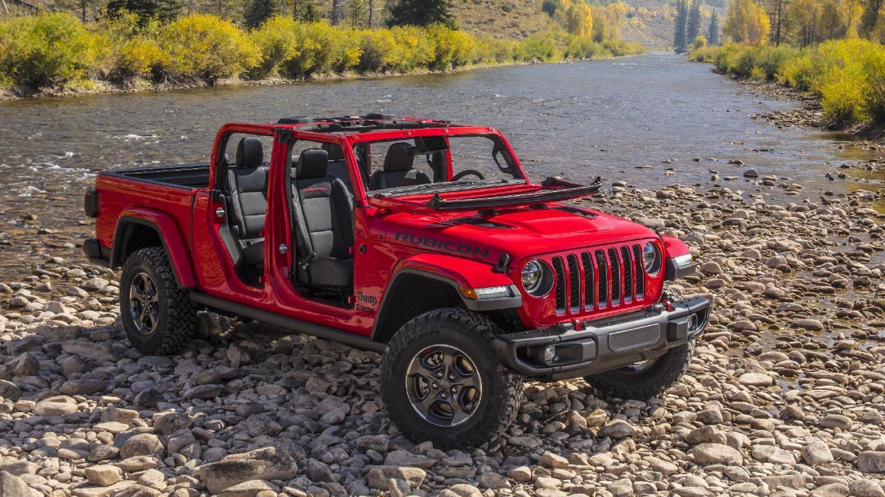 2019 Jeep Gladiator.