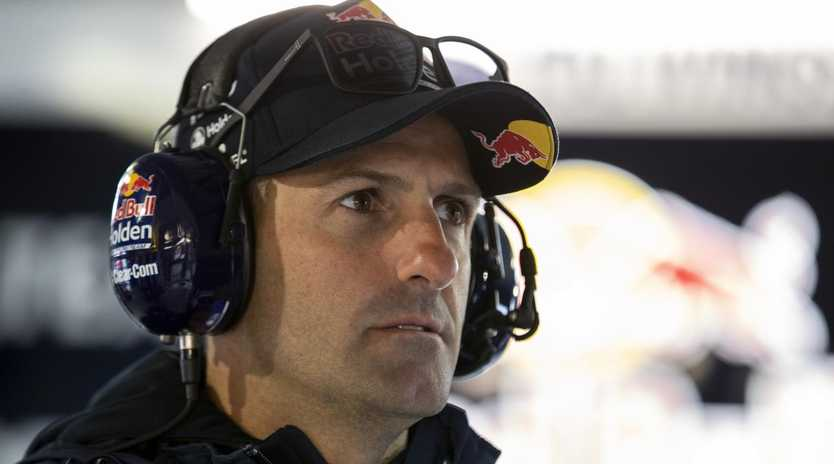 Jamie Whincup was well down the time sheet in practice at Phillip Island. Picture: AAP