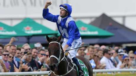 Winx can take her career earnings over $26m with victory in the Queen Elizabeth Stakes. Picture: Picture: AAP