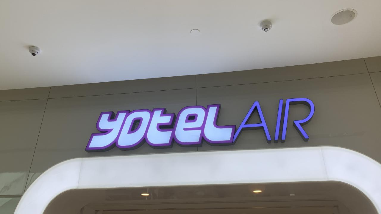 YotelAIR provides weary passengers with a place to stay for a minimum of four hours.