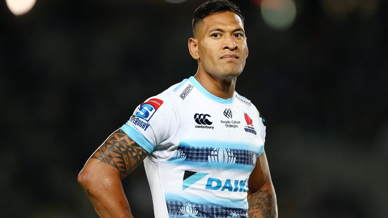 Israel Folau must make a compelling case if he is to overturn RA's decision. Picture: Getty Images)