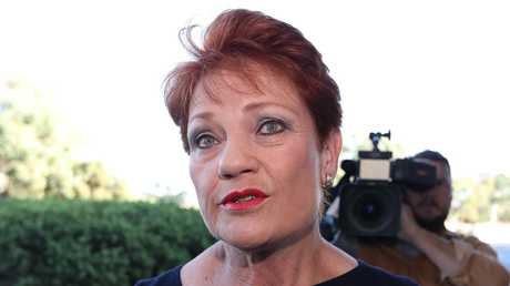 Senator Pauline Hanson. Picture Kym Smith