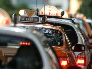 Taxi drivers sue state over rideshares