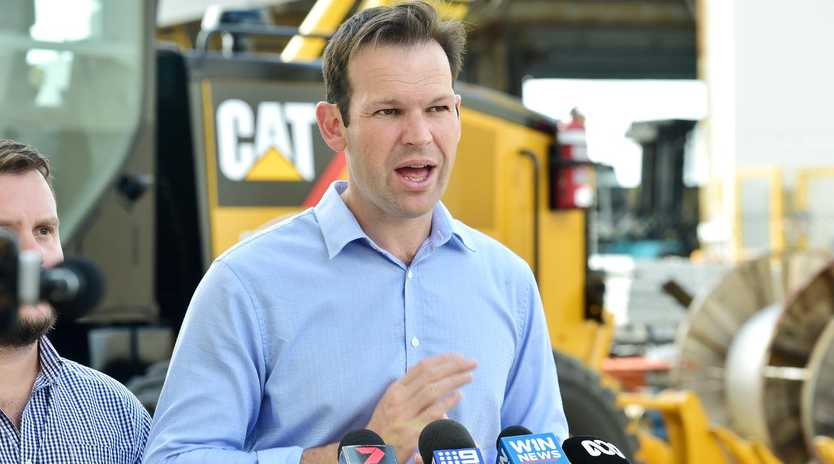 Resources Minister Matt Canavan helped secure big win on coal coast