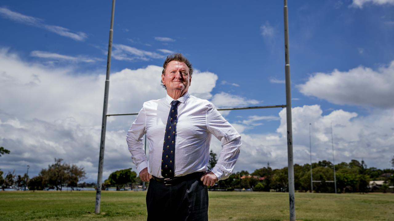 Gold Coast rugby union chairman Kim Bending. Picture: Jerad Williams