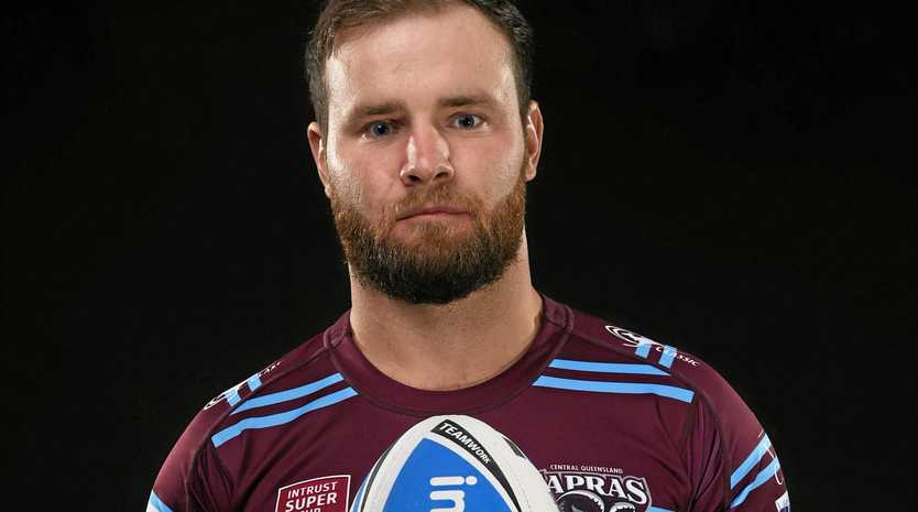 PROUD LEADER: Captain Jack Madden will lead the Capras in their 500th Intrust Super Cup game in Emerald today.